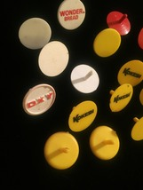 Lot of 22 vintage colorful plastic Golf Ball Markers image 2