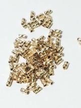 10pcs. - 14k Gold Filled 3mm Twisted Crimp 1.7 Gram For 014 Wire image 2