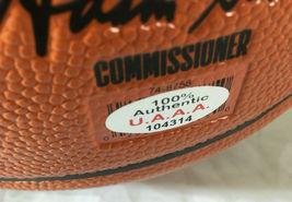 KOBE BRYANT / NBA HALL OF FAME / AUTOGRAPHED NBA LOGO SPALDING BASKETBALL / COA image 5