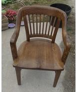Solid Quartersawn Oak Courthouse Armchair / Chair  (BM) - $499.00