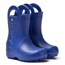 NWT Crocs Kids Handle It Rain Boot, Cerulean Blue, Toddler 6 M - $28.00