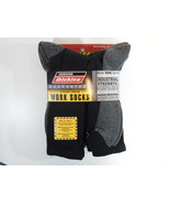 Dickies Size 12-15 Big and Tall Mens Comfort Crew Work Socks 5 Pairs Pac... - $23.95