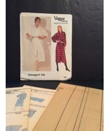 Vogue Designers Sewing Pattern Blassport 1067 8 10 12 Dress Loose Fit Un... - $13.02