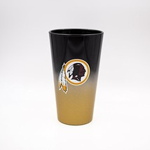 NFL Washington Redskins Color Chrome 17 oz. Pint Glass Tumbler - $19.95
