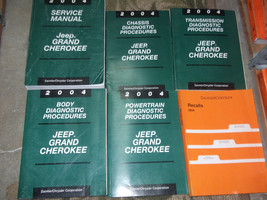 2004 Jeep Grand Cherokee Service Shop Repair Manual Set Oem Factory 04 Book - $316.75