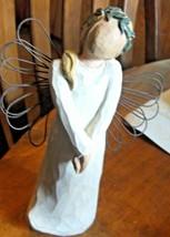 Willow Tree Celebrate Angel Figurine by Susan Lordi Demdaco 2003  - $14.95