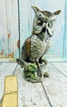 """Dello Stile Capodimonte Style Owl Musical Ceramic By F.E.I. Inc 11-1/2""""... - $39.59"""