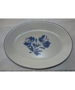 "Pfaltzgraff Yorktowne #16 Serving Platter Oval 14"" X 10"" Stoneware Vinta... - $32.66"
