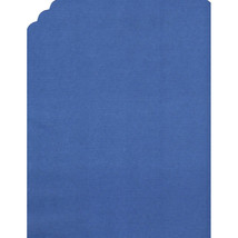 72 Paper Placemats Dinner Size place mats straight edge - royal blue - $7.91