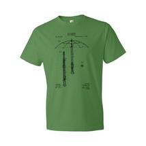 Cane Umbrella T-Shirt Patent Art Gift Folding Cane Umbrella Folding Umbrella - $18.95+