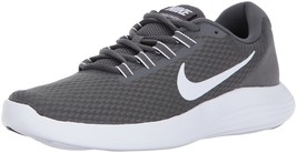 NIKE Men's LunarConverge Running Shoes Dark Grey/White/Anthracite/Black ... - $108.87