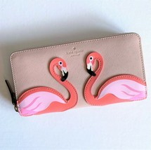 Kate Spade Flamingo Large Continental Wallet ~ By the Pool ~ New/NWT - $94.95