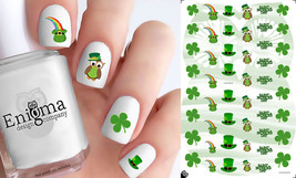 St Patrick's Day Nail Decals (Set of 48) - $4.95