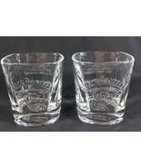 Jack Daniel Drinking Glasses Old No. 7 Old Fashion Low Ball 8 Oz Whiskey... - $27.69
