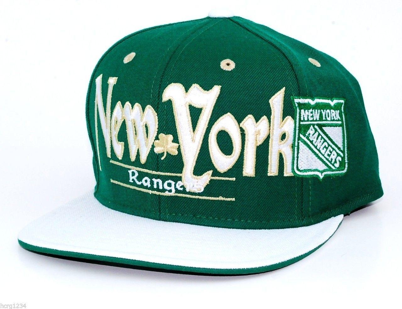 14663680433 NY Rangers Reebok NHL St.Patrick s Snapback and 50 similar items