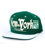 NY Rangers Reebok NHL St.Patrick's Snapback Flat Bill Hockey Cap Hat - $21.80