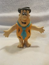 "Flintstones 1991 Just Toys Fred Flintstone Rubber Bendy Toy 4"" Tall - $4.95"