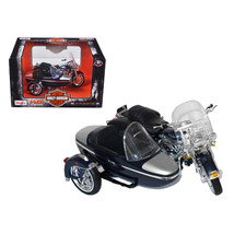 2001 Harley Davidson FLHRC Road King Classic with Side Car Black Motorcy... - $30.58
