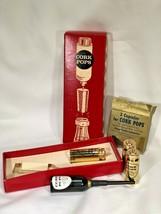 Vintage Cork Pops Wine Bottle Opener w/ Refills and Box - $14.85