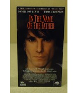 MCA Universal In The Name Of The Father VHS Movie  * Plastic Paper - $4.78
