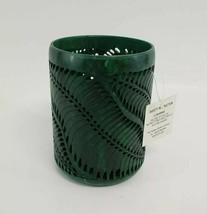 Yankee Candle Green Soapstone Holder Paradise Palms 1301417 for 22oz Large - $59.00