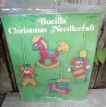 Bucilla Christmas Toyland Ornaments Needlecraft Kit - $24.00