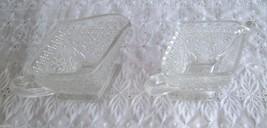 Vintage Clear Indiana Glass Sandwich Open Sugar... - $9.99