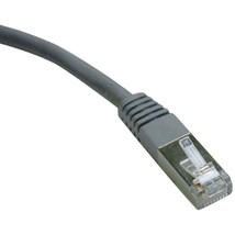 Tripp Lite Cat-6 Gigabit Molded Shielded Patch Cable (25ft) TRPN125025GY - $28.45
