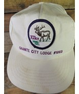 Elks Granito Urbano Lodge #1063 Vintage Regolabile Adulto Cappello - $17.52