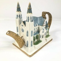 NEW Vintage Fitz & Floyd St. Patrick's Cathedral Teapot Limited Edition ... - $467.50