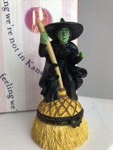 The Wicked Witch The Wizard Of Oz Hinged 4-in Trinket Box Enesco 1999 - $27.23