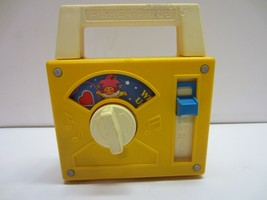 Vtg 1980 Retro Baby Toddler Musical Toy Fisher Price Radio 793 Wish Upon A Star - $14.80