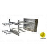 Brazilian BBQ Charcoal Grill - 05 Skewers - Rotisserie System - Oca-Brazil - $853.60