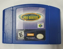 Tony Hawk's Pro Skater (Nintendo 64, 2000) N64 Authentic - Cartridge Only - $15.42