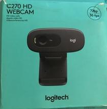 Logitech C270 Desktop or Laptop Webcam, HD 720p For Video Calling & Reco... - $54.95