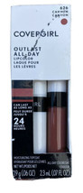 COVERGIRL Outlast All-Day Lipcolor 626 Canyon .13 oz 24 Hour Wear New In... - $19.71