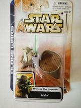 Star Wars Clone Wars Yoda Action Figure - $5.80