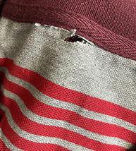 Men's Striped Lightweight Cotton Blend Mesh Classic Polo Shirt 5XL w/ Defect image 3