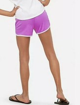 Justice Girl's Size 10 Fold-over Mesh Shorts in Cosmic Purple New with Tags - $9.89