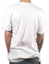 LRG Men's White Smoke To The Heavens Weed Marijuana Joint Slim Fit T-Shirt NWT image 2