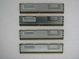 16GB 4x4GB DDR2 Fb Fully Buffered PC2-5300F 667 Mem Dell Precision T7400 Tested - $43.81