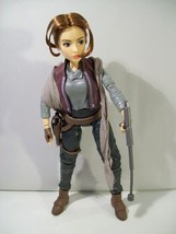 "NWOB DISNEY STAR WARS FORCES OF DESTINY JYN ERSO 11"" DOLL HASBRO 2016 LOOSE - $12.69"