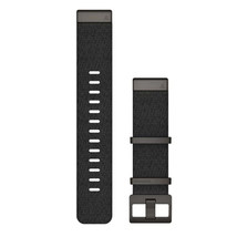 Garmin QuickFit 22 Watch Band - Jacquard-Weave Heathered Black [010-12738-03] - $234.99