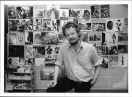 The artist Peter Dahl - Vintage photo - $9.41
