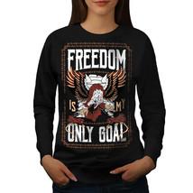 Freedom Only Goal Animal Jumper  Women Sweatshirt - $18.99