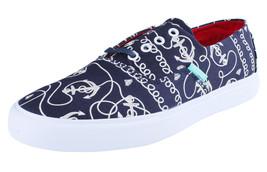 Diamond Supply Co Diamante Tagli Navy Ancore Tela Sneakers Barca Scarpe B14-F103