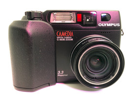 Olympus CAMEDIA C-3030 Zoom 3.3MP For Parts - $14.54