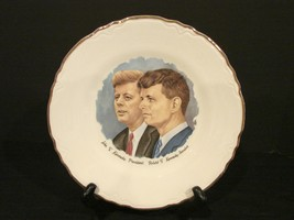 John F Kennedy and Robert F Kennedy Collectible Plate  - $6.90