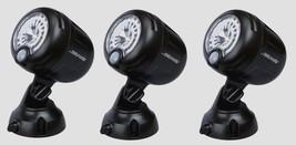 3 MR. BEAMS Black Security Spotlight Motion Sensing Battery LED Adjustab... - $73.49