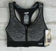 Avia - Women's Medium Support Seamless Zip Front Racerback Sports Bra - ... - $6.92